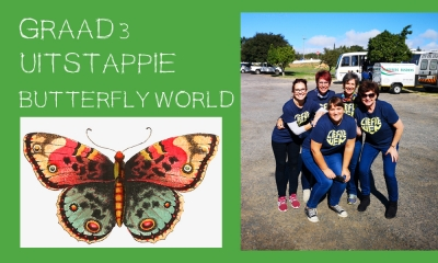 GRAAD 3 UITSTAPPIE BUTTERFLY WORLD 2019 GRADE 3 OUTING